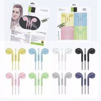 HANDSFREE STEREO U19 MACARON HANDSFREE EXTRA BASS EARPHONE U-19