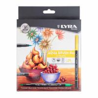 Brush Pen Lyra Aquabrush duo set 24