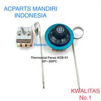Thermostat manual 30~300 derajat celcius / analog thermostat WZB-01