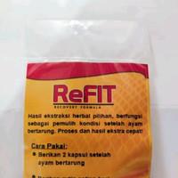 refit recovery formula obat pemulihan ayam pasca tarung obat luka dala