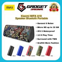 MIFA A10 Speaker Bluetooth Xiaomi Portable Waterproof Original Garansi - Hitam grafitti