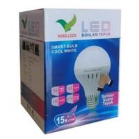 Lampu Bohlam 15watt Led Tepuk Sensor Suara 15watt putih