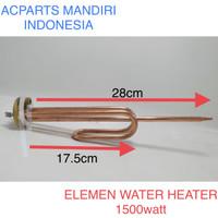 Elemen water heater 1500 watt kuningan
