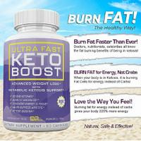 Ultra Fast Keto Boost Diet Zaman Now Praktis Langsing Cepat Kurus