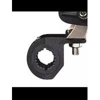 Bracket breket holder lampu tembak motor stang Universal IMPORT