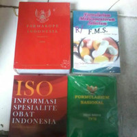 Promo paket buku farmakope 5, iso vol 52 thn 2019, FMS, fornas