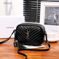 TAS SELEMPANG WANITA BRANDED IMPORT YS L Camera Bag P1012 Platinum