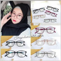 kacamata baca wanita | SONIA 19057 | gratis lensa plus/min/silinder