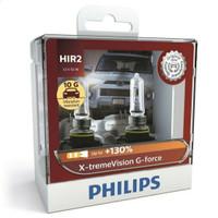 Bohlam Lampu PHILIPS HIR2 9012 Xtreme Vision G-Force 12V 55W Original