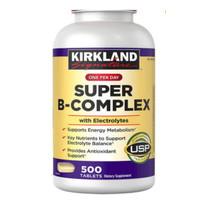 KIRKLAND SIGNATURE SUPER B COMPLEX WITH ELECTROLYTES 500 TABLETS