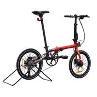 Sepeda Lipat Element Troy orange black chrome edition 2020