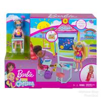 Rumah Sekolah Boneka Barbie Club Chelsea Doll School - ORI Mattel