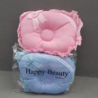 bantal peang happy beauty kain - Biru
