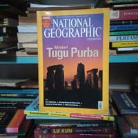 Majalah National Geographic Misteri Tugu Purba