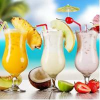 Cocktail Glass/Hurricane Glass/Gelas Kaki/Gelas Cocktail/Gelas Import