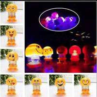 obral Spring doll led lampu besar emoji 1 model