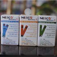Paket Hemat Strip Test Darah Nesco (Kolesterol, Gula Darah, Asam Urat)