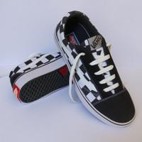 Sepatu Vans Catur Unisex Sepatu Sekolah SD SMP SMA Pria atau Wanita