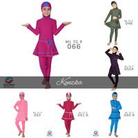 Baju Renang Anak Perempuan SD Muslim Muslimah Cewek Edora ML TG P