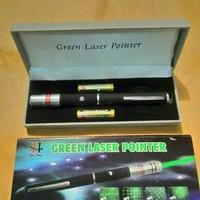 Green laser pointer/ laser pointer hijau