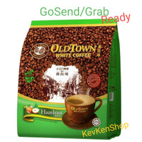 OldTown White Coffee Old Town Malaysia Hazelnut 3in1 kopi 15 sachet