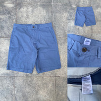 Celana GAP Slim Cotton Stretch Chino Shorts Dark Blue Original Pendek