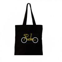 [ada resleting] totebag semi kanvas | totebag bike sepeda 30x40