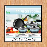 panci set / cookware set 11pcs