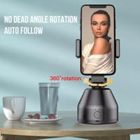 360 Rotation Phone Kamera Camera Holder 360 Rotasi Vlog Auto Tracking - Generasi 2