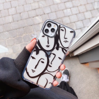 Lady Face Case iPhone 7+ 8+ X Xs Xr Xs Max 11 11Pro 11ProMax