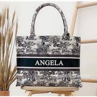 Kanvas Initial size L | custom kanvas bag | totebag custom