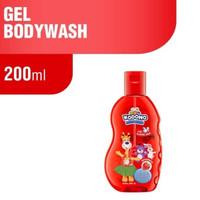 Kodomo Gel Bodywash 200ml Orange Sabun Mandi Anak Body Wash