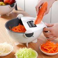 Parutan sayur serbaguna 7 in 1 / Wet Basket Vegetable Cutter