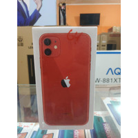 IPhone 11 64GB red garansi resmi ibox/tam