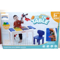 BRICKS KINGDOM Lego Table Brick Meja Lego Anak buat main Lego Learning