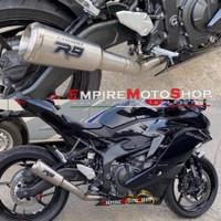 Knalpot R9 M2 Kawasaki ZX 25 R ZX25R Fullsystem Titanium