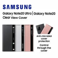 Original Samsung Note20 Note 20 Ultra Smart Clear View Cover - MYSTIC BRONZE, Note20