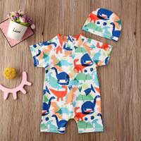 baju renang bayi laki-laki jumper 3bln-4thn