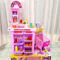 Mainan Kitchen Mega Mart Ukuran Besar Troli Belanja Supermarket