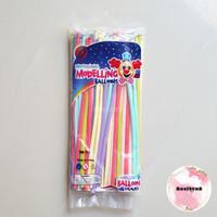 Balon Latex Pentil / Twist Pastel Macaron / Balon Latex Panjang