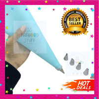 Icing Piping Bag Set Cake Decorating Kit Cookie 8pcs Spuit Coupler DIY