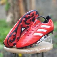 SEPATU BOLA ADIDAS GOLETTO VII FIRM GROUND RED/sepatu bola adidas