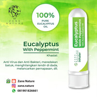 Inhaler 100% essential oil Eucalyptus Peppermint Anti virus