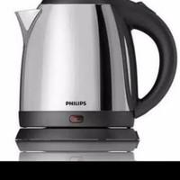 Philips Tea Bolling Kettle HD- 9306 Teko Listrik Stainless Pemanas Air
