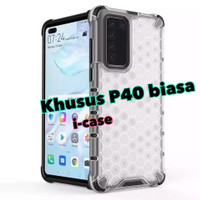 Huawei P40 Biasa Soft Case HoneyComb Armor - casing cover P 40 biasa