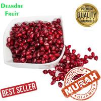 GROSIR MURAH 500gr Biji Buah Delima Merah Import Red Pomegranate