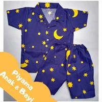 Piyama Anak & Bayi Laki-Laki & Perempuan | Baju Tidur Bayi dan Anak - L 2-3 Tahun