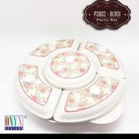 Pransmanan Set/Party Set Bulat 14 inchi Onyx Malamine PSB01