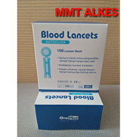 Blood lancet / jarum lancets / jarum ambil darah