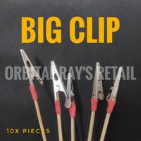 BIG Painting clip (penjepit part untuk dicat) 10 pcs per set